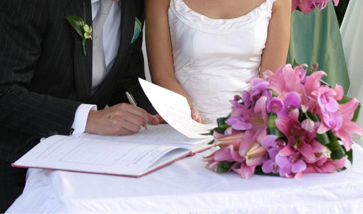 Cómo registrar en España un matrimonio celebrado en el extranjero