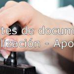 tramites de documentos, legalización apostilla