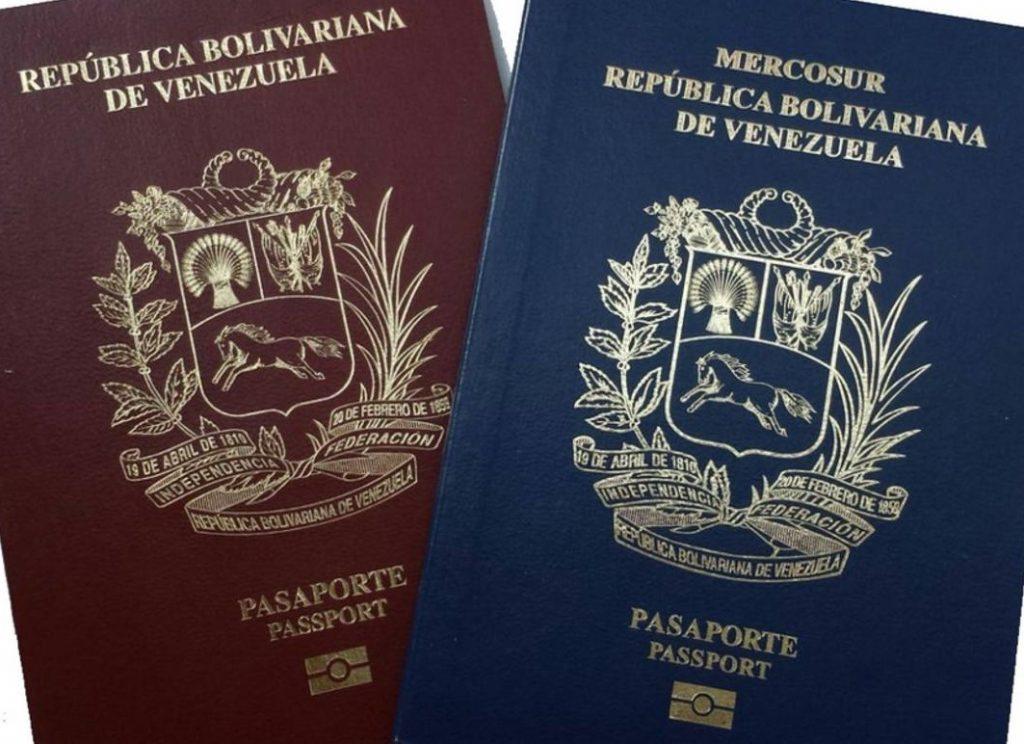 próroga de pasaportes venezolanos
