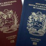 prórroga de pasaportes venezolanos