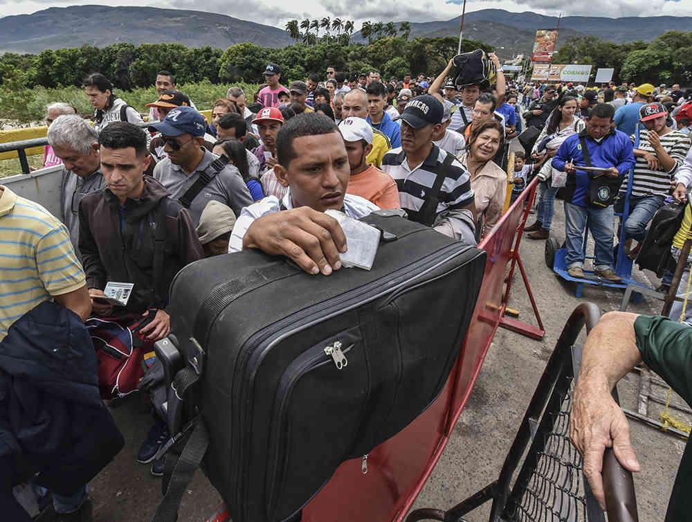 asilo emigrantes venezolanos