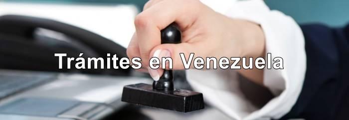 tramites en Venezuela