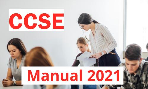 Manual examen CCSE 2021