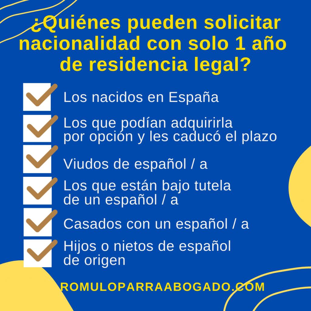 solicitar nacionalidad española